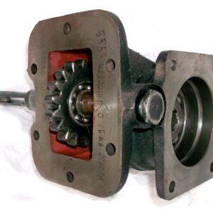 Коробка отбора мощности на а/м ЗИЛ под насос НШ (Зил-555) механическое включение ПоволжьеТехМаш