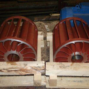 Колесо рабочее (стальное) насоса ВВН1-12 (ВК-12М1) ПоволжьеТехМаш