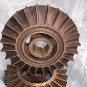 Колесо вихревое к насосу СЦЛ-20-24 бронзовое