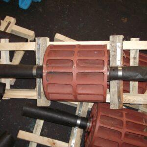 Ротор (колесо чугунное) с втулками насоса ВВН1-12 (ВК-12М1) ПоволжьеТехМаш