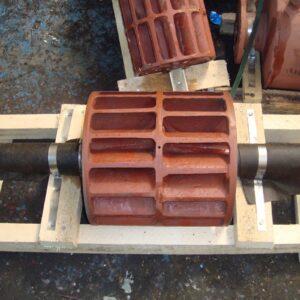 Ротор (колесо чугунное) с втулками насоса ВВН1-6 (ВК-6М1) ПоволжьеТехМаш