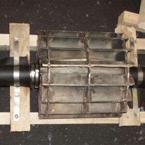 Ротор (колесо сварное) насоса ЖВН-12Н ПоволжьеТехМаш