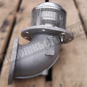 Клапан донный диаметр 100мм на бензовоз пневмовключение (Sening)