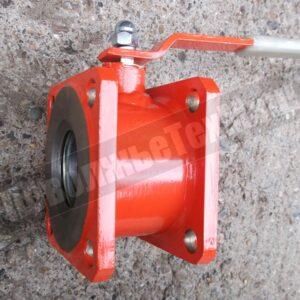 Кран шаровый на бензовоз ДУ-80