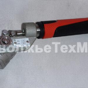 Кран шаровой с возвратным механизмом ДУ20 КШРМ.04.1020010-04 ПоволжьеТехМаш