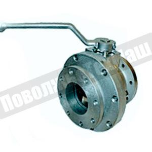 Кран шаровой алюминиевый ДУ100 КШРФ.05.1100006-04 ПоволжьеТехМаш